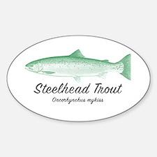 Steelhead Trout Vintage Decal
