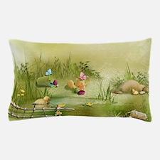 Easter Landscape Pillow Case