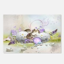 Easter Eggs Postcards (Package of 8)