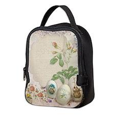 Easter Collage Neoprene Lunch Bag
