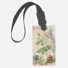 Easter Collage Luggage Tag