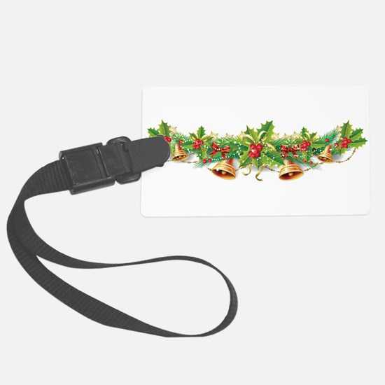 Christmas Bell Garland Luggage Tag
