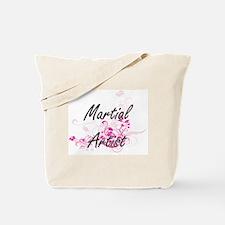 Martial Artist Artistic Job Design with F Tote Bag