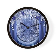 Christmas Window Wall Clock
