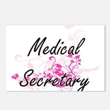 Medical Secretary Artisti Postcards (Package of 8)