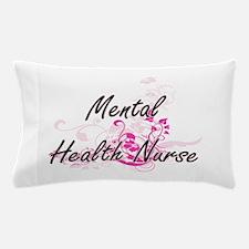 Mental Health Nurse Artistic Job Desig Pillow Case