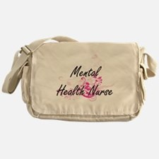Mental Health Nurse Artistic Job Des Messenger Bag