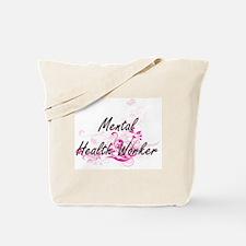 Mental Health Worker Artistic Job Design Tote Bag
