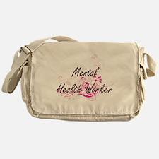 Mental Health Worker Artistic Job De Messenger Bag