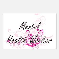 Mental Health Worker Arti Postcards (Package of 8)