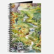 Watercolor Summer Scene Journal