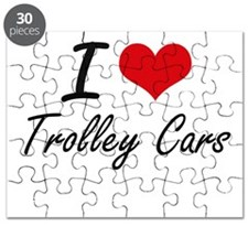 I love Trolley Cars Puzzle