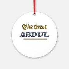 Abdul Ornament (Round)
