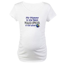 Best Police Officer In The World (Mommy) Shirt