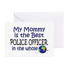 Best Police Officer In The World (Mommy) Greeting