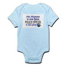 Best Police Officer In The World (Mommy) Infant Bo