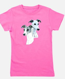 Cool Dogs paws Girl's Tee