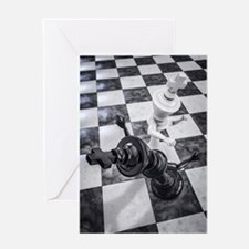 Checkmate Knockout Greeting Card