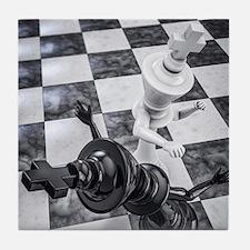 Checkmate Knockout Tile Coaster