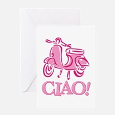 Ciao Scooter Greeting Card