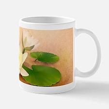 Lotus and Dragonfly Grunge Small Small Mug