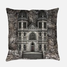 Castle Stone Wall Everyday Pillow
