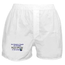 Best Police Officers In The World Boxer Shorts
