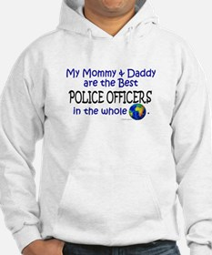 Best Police Officers In The World Hoodie