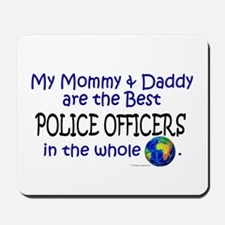 Best Police Officers In The World Mousepad