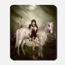 Amazon and Horse Mousepad