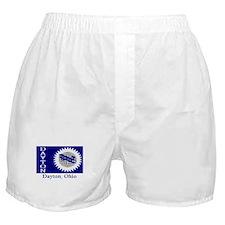 Dayton OH Flag Boxer Shorts