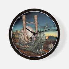 Surreal Steampunk Snail Wall Clock