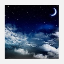 Silent Night Tile Coaster