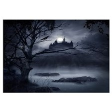 Gothic Night Fantasy Wall Art