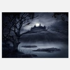 Gothic Night Fantasy Wall Art
