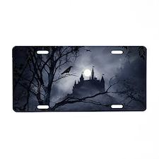 Gothic Night Fantasy Aluminum License Plate