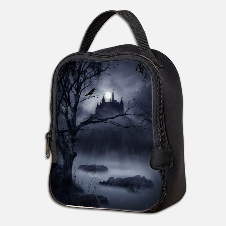Gothic Night Fantasy Neoprene Lunch Bag