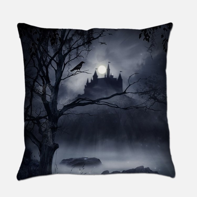 Gothic Night Fantasy Everyday Pillow