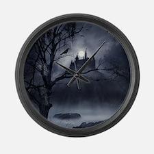 Gothic Night Fantasy Large Wall Clock