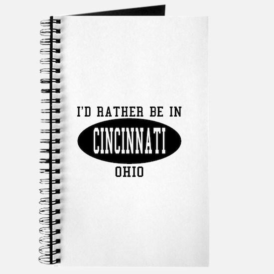 I'd Rather Be in Cincinnati, Journal
