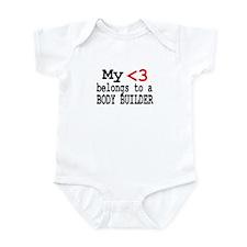 Body Builder Infant Bodysuit