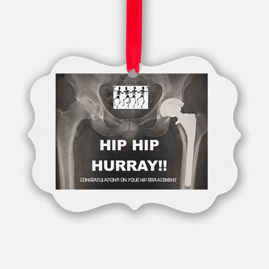 Cute Hip replacement Ornament