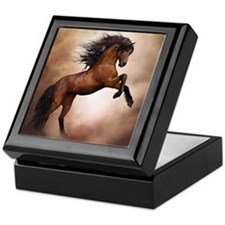 Wild Horse Keepsake Box