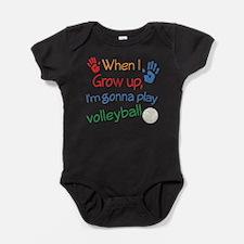 Cool Kids volleyball Baby Bodysuit