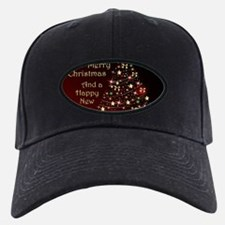 Christmas Tree And Wishes Baseball Cap