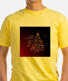 Christmas Tree And Wishes T-Shirt
