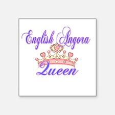 Enlgish Angora Queen Sticker