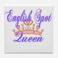 English Spot Queen Tile Coaster