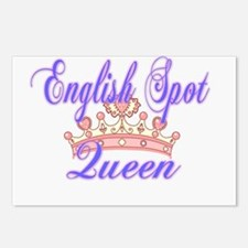 English Spot Queen Postcards (Package of 8)