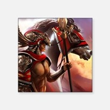 "Ancient Centurion Square Sticker 3"" x 3"""
